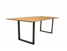 Life Oak Dining Table with U-shape leg