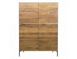 Ortello oak highboard 4D