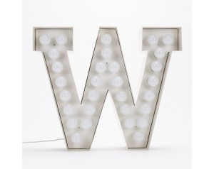 Vegaz Metal Letter With LED Bulb