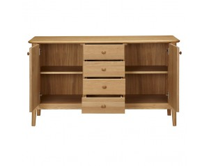 Hudson 4 Drawer, 2 Door Sideboard