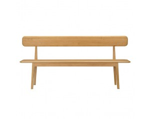 Hudson Bench with Backrest