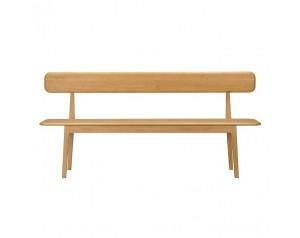 Hudson Bench with Backrest