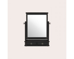 Henshaw Black Dressing Table Mirror