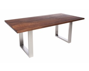 Fargo Walnut Dining Table with U-shape leg 4x10cm