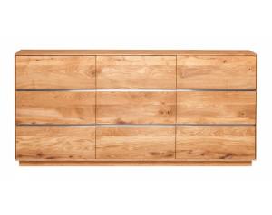 Fargo Oak 3 Door Sideboard