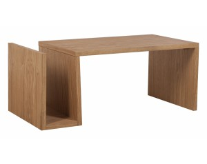 Westport Coffee Table with Magazine Rack
