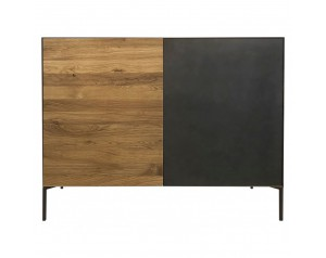 Ortello oak 2 door sideboard