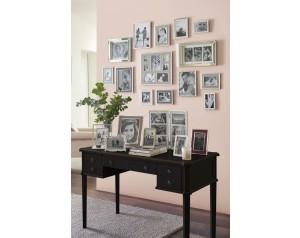 Henshaw Black 5 Drawer Desk