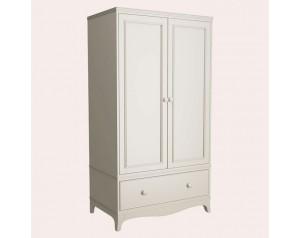 Broughton Ivory 2 Door 1 Drawer Wardrobe
