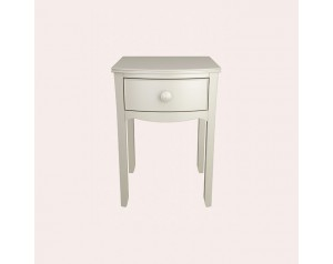 Broughton Ivory Bedside Table