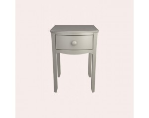 Broughton Pale French Grey Bedside Table