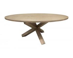 Coen Oak Oval Dining Table