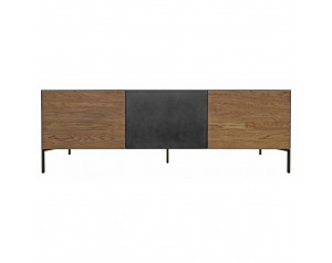 Ortello oak TV unit 3D