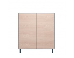 Cubo Square Cabinet 2 Doors & 4 Drawers By Another Brand