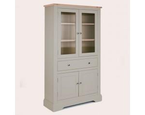 Dorset Pale French Grey 4 Door 1 Drawer Storage Unit