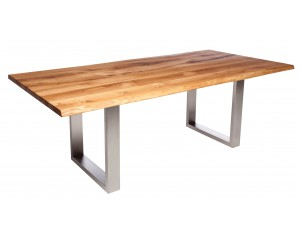 Fargo Oak Dining Table with U-shape leg 4x10cm