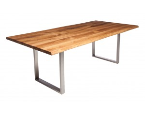 Fargo Oak Dining Table with U-shape leg 3x6cm