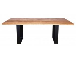 Fargo Oak Dining Table with Rounded U-shape leg T1xW10 cm