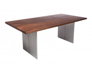 Fargo Walnut Dining Table with Full leg