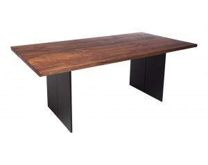 Fargo Walnut Dining Table with Full leg