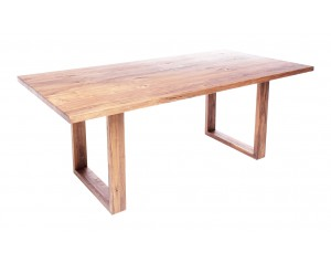 Fargo Oak Dining Table with U-shape wooden leg 4x10 cm