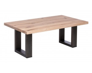 Fargo Oak Coffee Table with U-shape leg 4x10cm