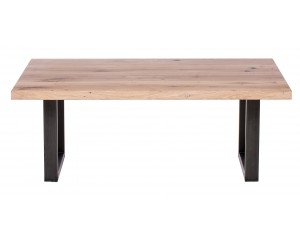 Fargo Oak Coffee Table with U-shape leg 3x6cm