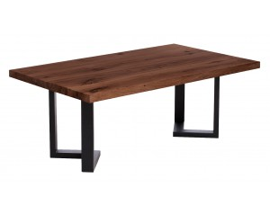 Fargo Walnut Coffee Table with M-shape leg 3x6cm