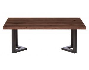 Fargo Walnut Coffee Table with M-shape leg 3x6cm