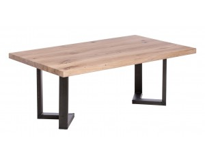Fargo Oak Coffee Table with M-shape leg 3x6cm
