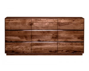 Fargo Walnut 3 Door Sideboard