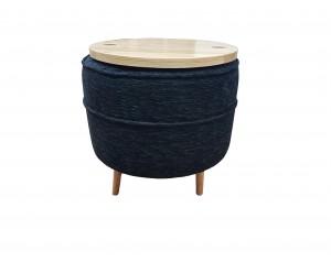 Upholstered Footstool (Ross Fabrics)