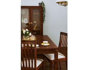 Balmoral Dark Chestnut Extending Dining Table