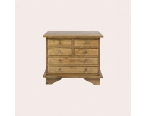 Garrat Honey 6 Drawer Side Table