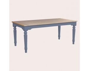 Dorset Dusky Seaspray Fixed Top Dining Table