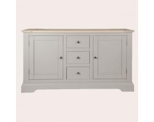 Dorset Pale French Grey 2 Door 3 Drawer Sideboard