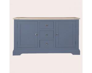 Dorset Dusky Seaspray 2 Door 3 Drawer Sideboard