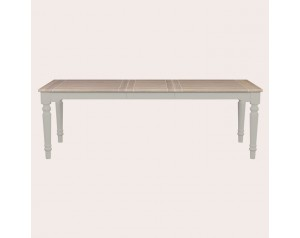 Dorset Pale French Grey Extending Dining Table