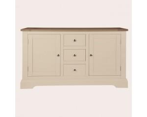 Dorset Soft Truffle 2 Door 3 Drawer Sideboard