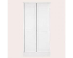 Ashwell Cotton White 2 Door Wardrobe