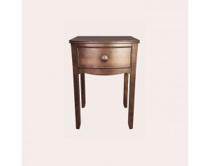 Broughton Dark Bedside Table