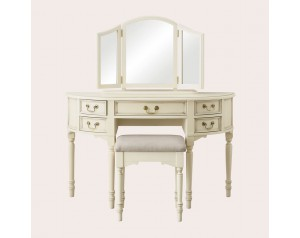 Clifton Ivory Dressing Table Mirror