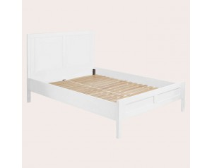 Ashwell Cotton White Bed Frame