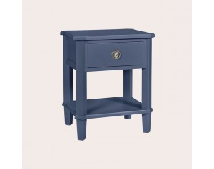 Henshaw Dusky Seaspray 1 Drawer Side Table