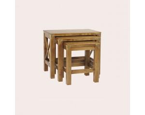 Balmoral Honey Nest Of 3 Tables