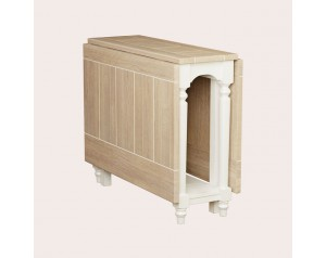 Dorset White Drop Leaf Dining Table