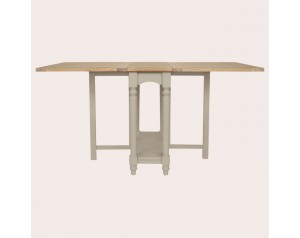 Dorset Pale French Grey Drop Leaf Dining Table
