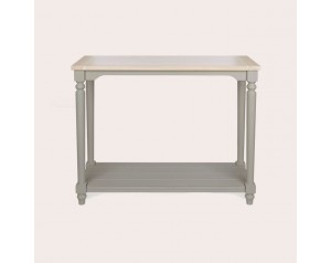 Dorset Pale French Grey Console Table
