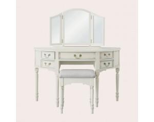 Clifton Dove Grey Dressing Table Mirror
