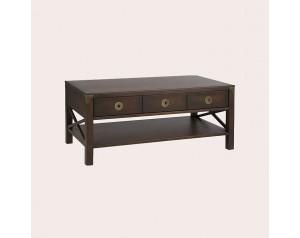 Balmoral Dark Chestnut 3 Drawer Coffee Table
